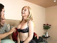 Stephanie is all geared up to fuck another couple- as lengthy as her husband, Sasha, keeps his promise to wear a raincoat. Nina and Tommy are ready for some action too, and all is well until Nina's voluptuous ass gets Sasha a little also wild and he decides t