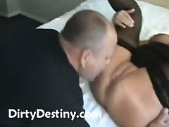 Fat older amateur housewife hardcore interracial cuckold fucking
