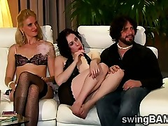 Wild fuckfest takes place in XXX swingers reality show