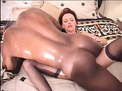 Hardcore aged wife interracial pumping