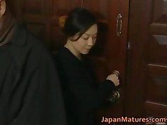 Japanese mature lady is in for some sexy