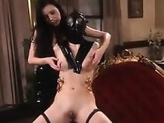 Lesbos Wearing Latex