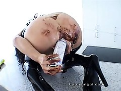 Extreme older fetish wife extraordinary anal and bawdy cleft games