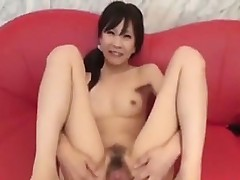 Teen And Unshaved Japanese Beauty Squirting