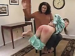 Wicked Young Spanked By Her Step Mother