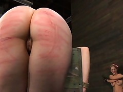 Angel receives depraved teasing