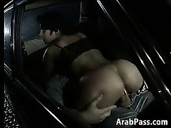 Arab Pair Having Sex In An Old BMW