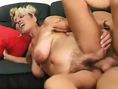 Older Woman Being Fucked On The Bed