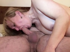 German Mommy and Daddy fuck her 1st time anal after look porn