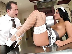 Hot housewife riding agonorgasmos