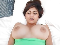 MIA KHALIFA receives BLACKED