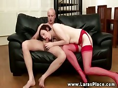 Older nylons engulfing previous to riding