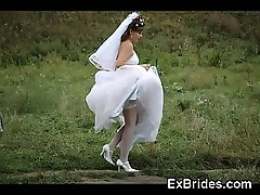Real Brides Upskirts!