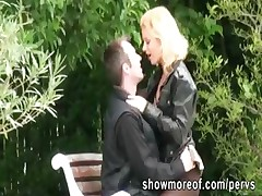 Pervert chap secretly films a hot gf roughly pumping with her paramour