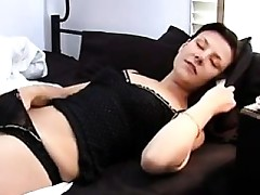Non-professional Angel Masturbating