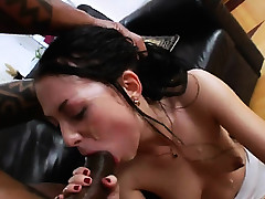 2 monster black penis in her anus