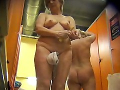 dressing room spy cam catches many girls