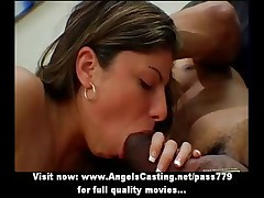 Mature dark brown lady having interracial sex with a dark young man