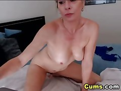 Golden-haired Busty MILF has Multiple Orgasms HD